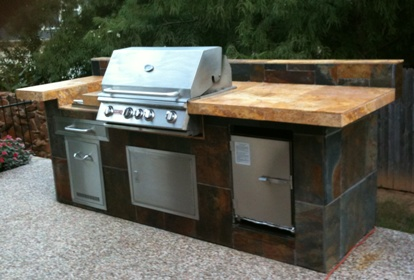 ... SmokinTex Electric Smoker Built In